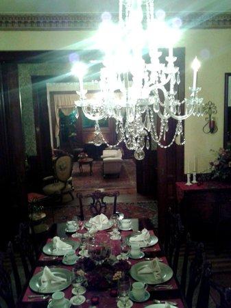 Amelia Island Williams House: Dining room