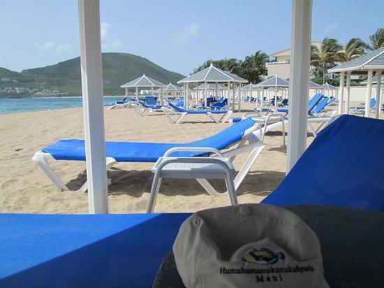 Marriott's St. Kitts Beach Club: free beach cabanas