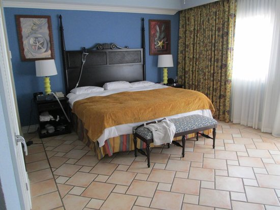 Marriott's St. Kitts Beach Club : our master bedroom