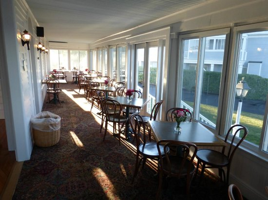 Ocean House Hotel at Bass Rocks: Stacey House dining room