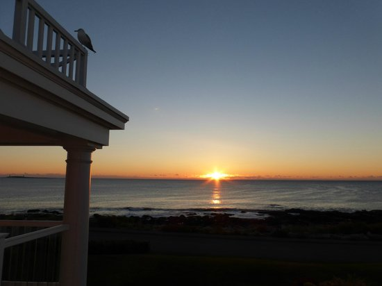 Ocean House Hotel at Bass Rocks: sunrise