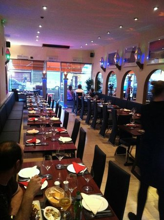 Saray: Inside after refurbishment