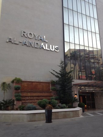 Royal Al-Andalus: Outside front