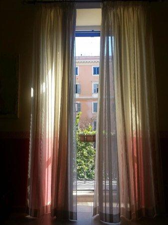 Loggetta di Trastevere: Augusta room balcony