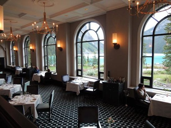 Fairview Dining Room Famous View  Picture Of Fairview Lake Louise  Tripadvisor