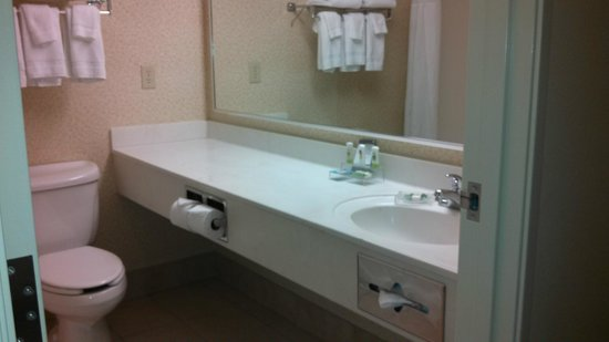 Country Inn & Suites By Carlson, Marquette: Spacious vanity area