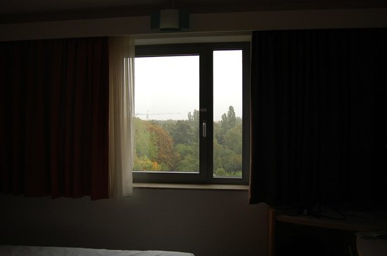 Ibis Berlin Mitte: Vista desde o quarto