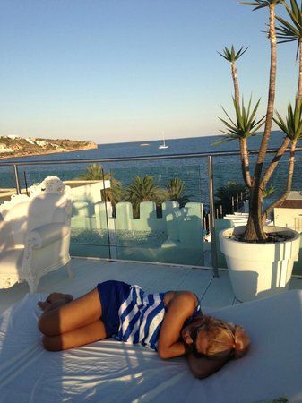 Hotel Es Vive : roof terrace