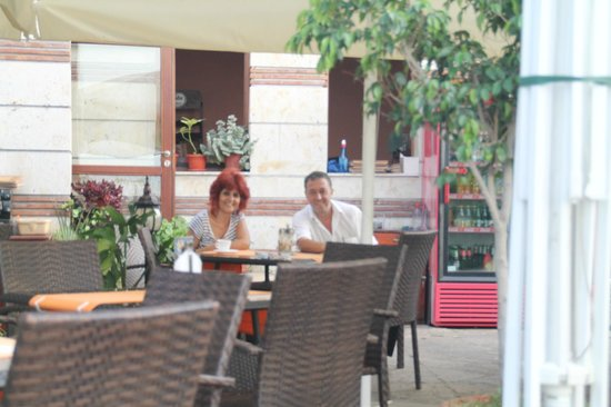 Hotel Saint Nikola: usual staff at St Nikola