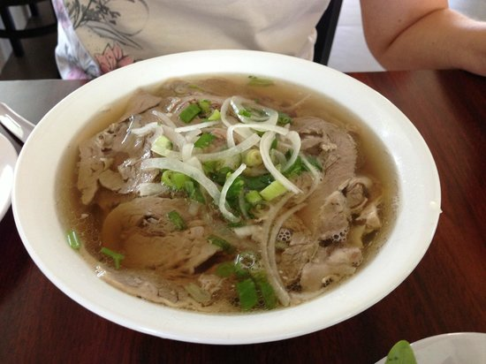 Food on the table at pho viet nam 999 picture of pho for Asian cuisine oshawa