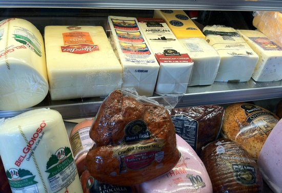 Sorrento's : Cheeses and deli products galore