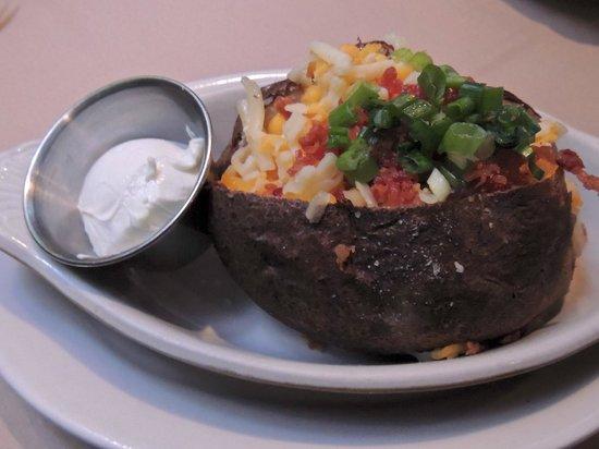 Z's Oyster Bar & Steak House: Loaded Baked Potato