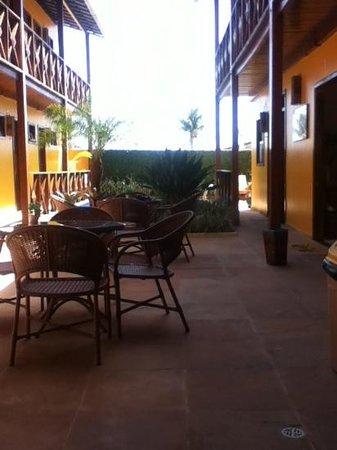Pousada Perola Do Morro: patio