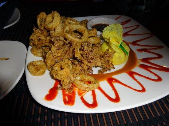 Donovan's Prime Seafood: crispy tender calamari