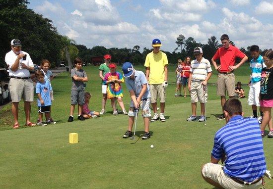 Kissimmee Golf Club: Junior golf camp