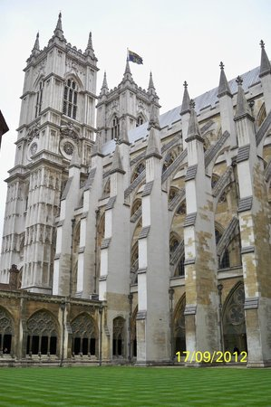 Westminster Abbey Great Gothic Flying Buttresses