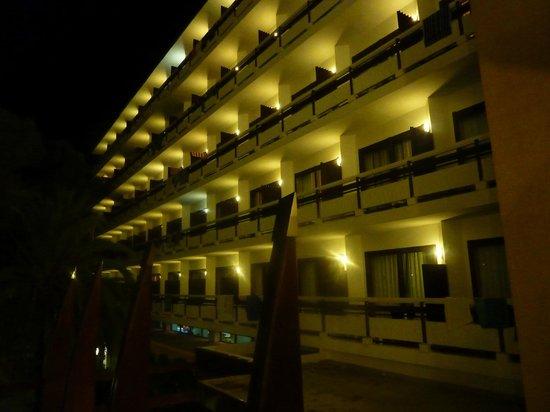 azuLine Hotel Bergantin: View from room 102 balcony, right