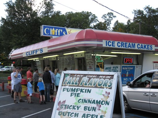 Cliff's Homemade Ice Cream: Fall is Ice Cream time