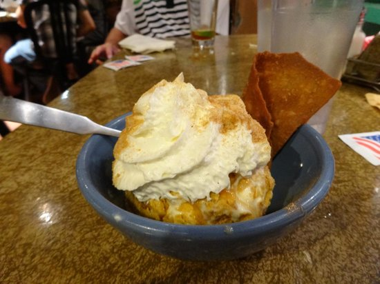 Cafe Coyote: Fried Ice Cream