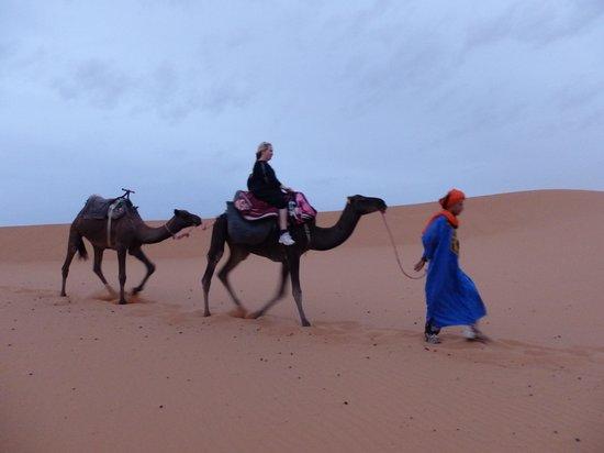 Riad Nezha: Sahara sunset camel trek