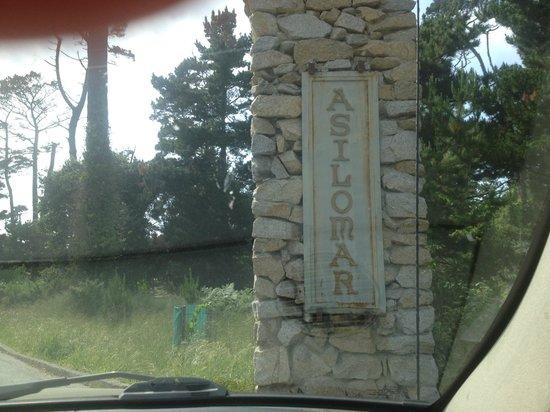 Asilomar Conference Grounds: entrance