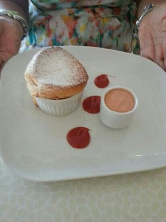 Cheese soufflé with guava sauce. SPECTACULAR - Picture of Kasavista ...