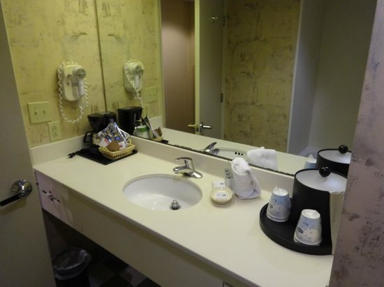 Hampton Inn & Suites Convention Center: Plenty of counter space