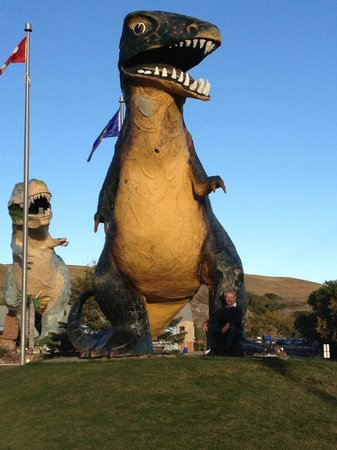 Heartwood Inn and Spa: nearby dinosaurs