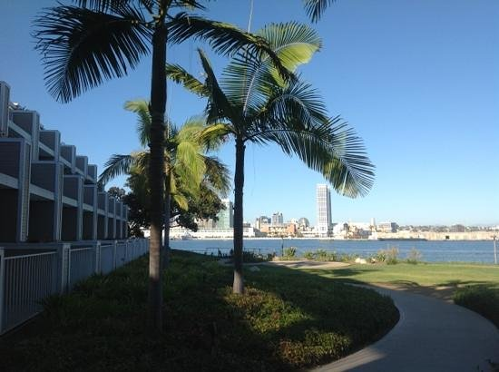 Marriott Coronado Island Resort & Spa: the views on downtown SD and the bay are unbeatable