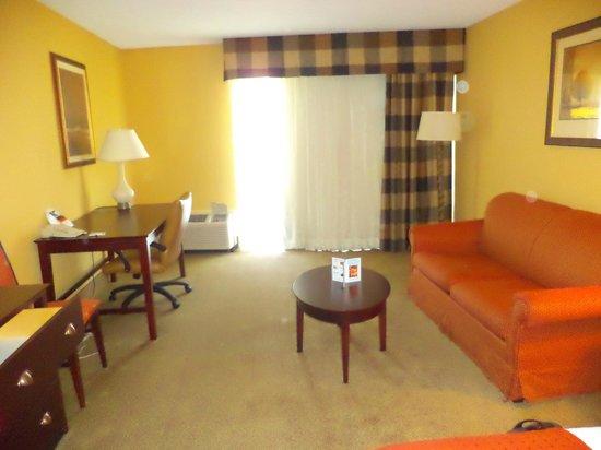 Red Lion Hotel Harrisburg Hershey : Hotel room