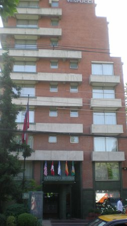 Hotel Vespucci Suites: Front