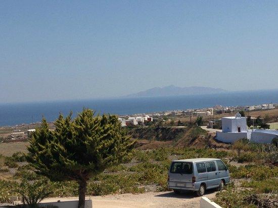 Koronios Villa: vistas desde nuestro balcon