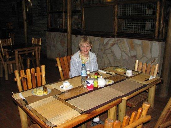 Arcadia Cottages, Lake Mburo: Dinning area