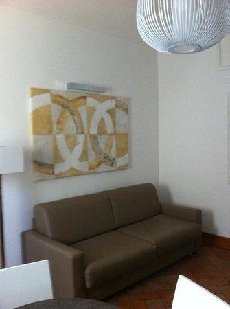 Navona Luxury Apartments: soggiorno