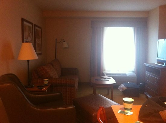 Homewood Suites Omaha Downtown: Living room