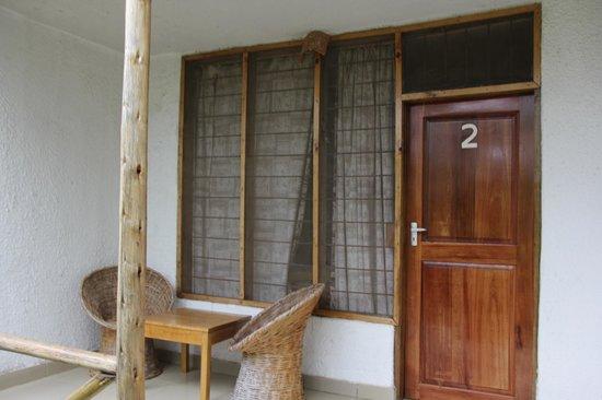 Meru Mbega Lodge: balcon