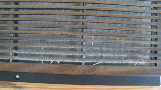 Eastland Motel : climatiseur poussiéreux