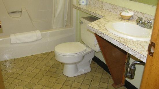 Eastland Motel: salle de bains