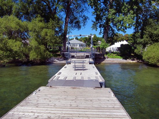 Waupoos Estates Winery : View from the dock