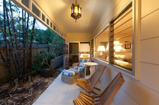 Aaman & Cinta Luxury Guesthouse & Villas: Outdoor Terrace