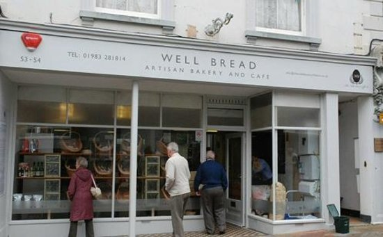 Well Bread Artisan Bakery and Cafe: Well Bread - Well Pricey!