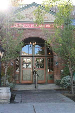 McMenamins Old St. Francis School: Pub Entrance