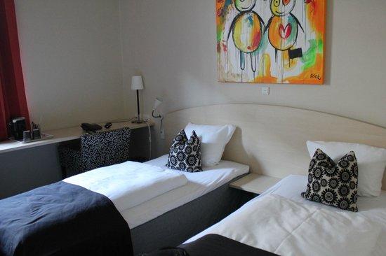 Copenhagen Mercur Hotel: Habitación