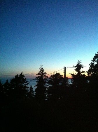 """Oceanstone Resort : View from the deck of """"The Pines"""""""