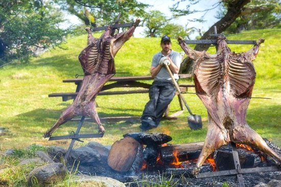 Las Torres Patagonia: A Slow Roasted Lamb Barbecue