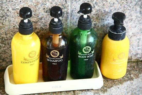 Orange Bay: シャンプー、リンス、ボティーソープ、洗顔フォーム