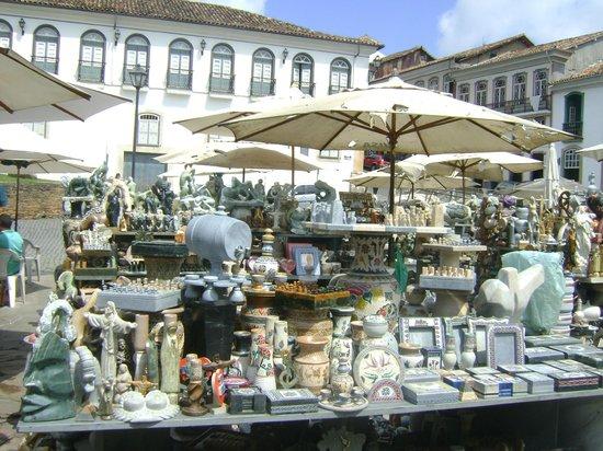 Feira De Pedra Sabao Do Largo De Coimbra