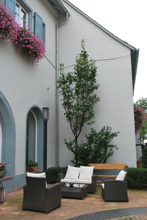 Hotel Domhof: more from the courtyard