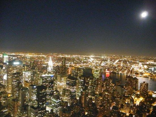 Empire State Building: mooi uitzicht