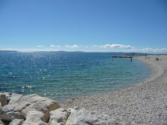 Radisson Blu Resort Split: Praia do hotel